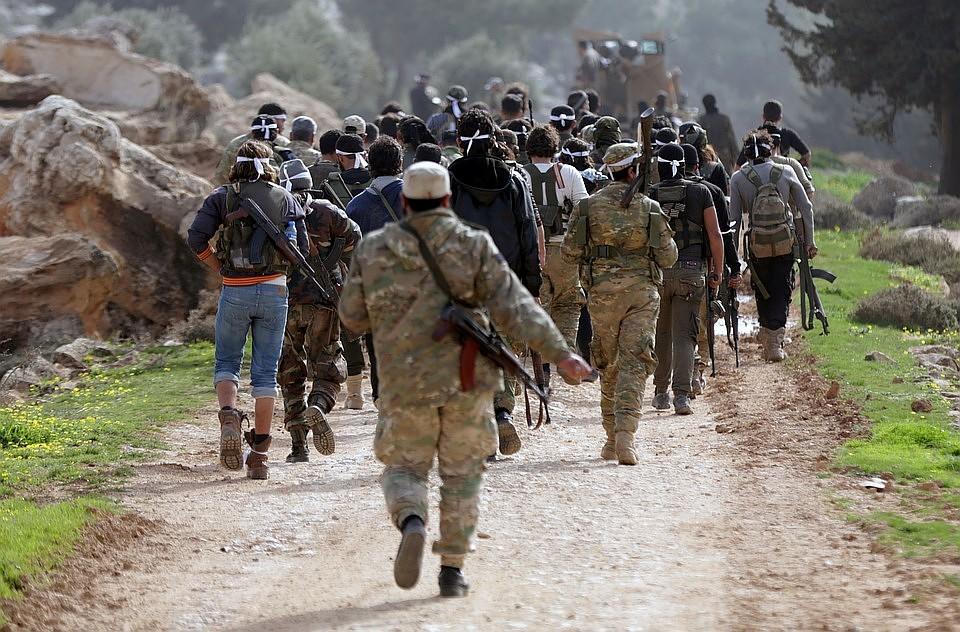 Из демилитаризованной зоны в Идлибе вышла часть террористов