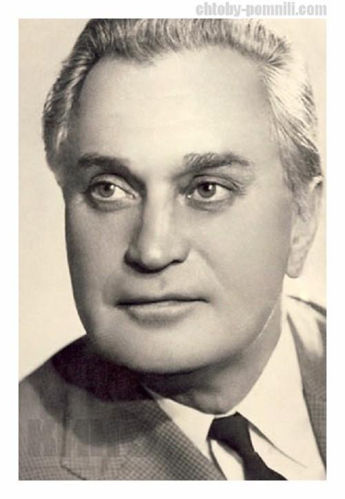 Гриценко Николай Олимпиевич актёр, народный артист СССР