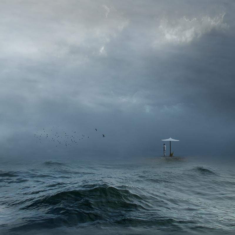 Стою я у моря