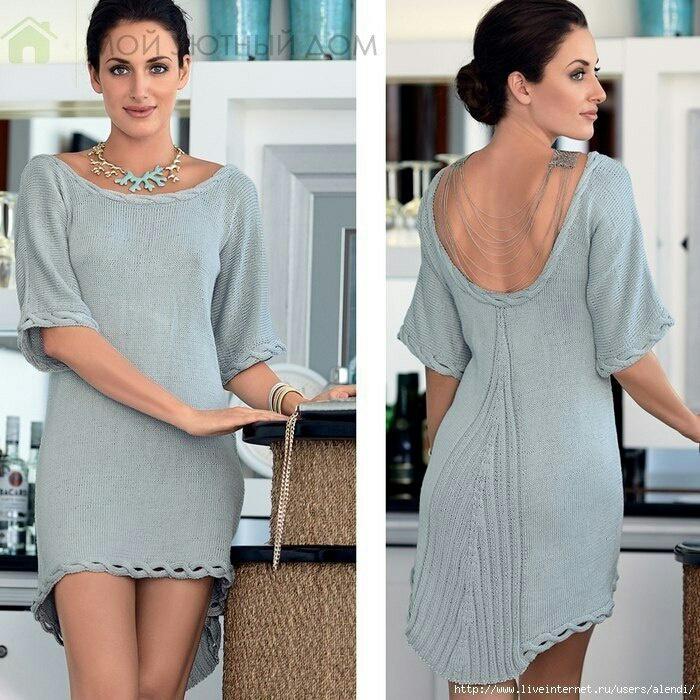 Платье с асимметрией (diy)