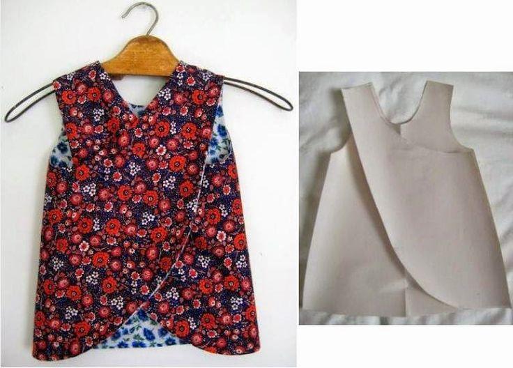 Moda электронной Dicas де Costura: Платье DE CRIANÇA DE COSTURA Facil