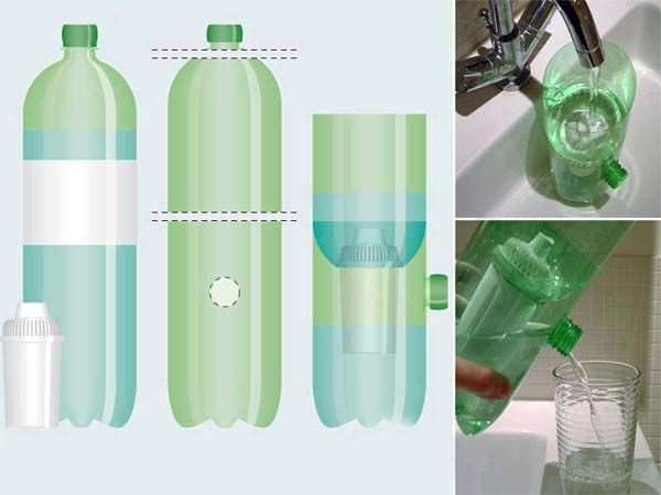 reciclado de botellas de plastico - dispensador 2
