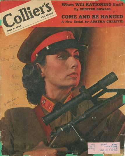 Элеонора Рузвельт и cоветский снайпер