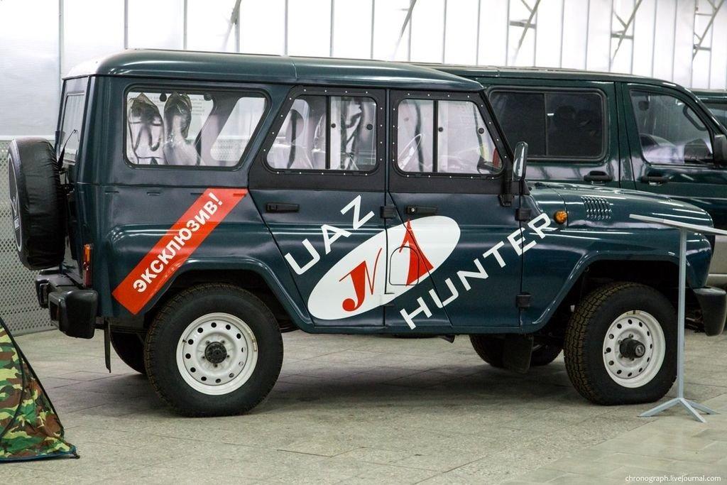 УАЗ представит новые версии «Hunter» и «Буханки»