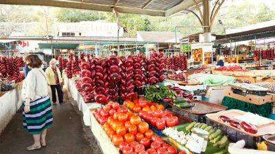 Саакашвили осудил продовольственную блокаду Крыма