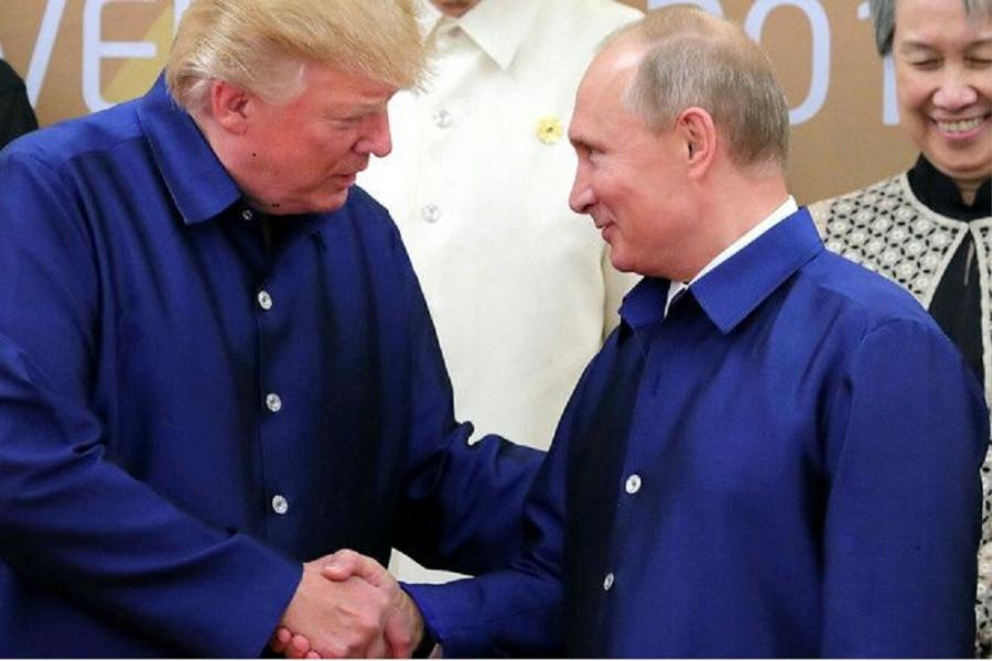 Кадыров о рукопожатии Путина и Трампа: Наш президент показал медвежью хватку