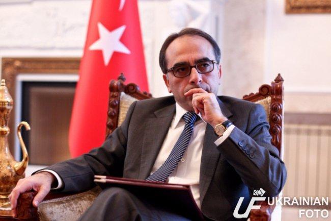 Посол Турции в Украине Йонет…