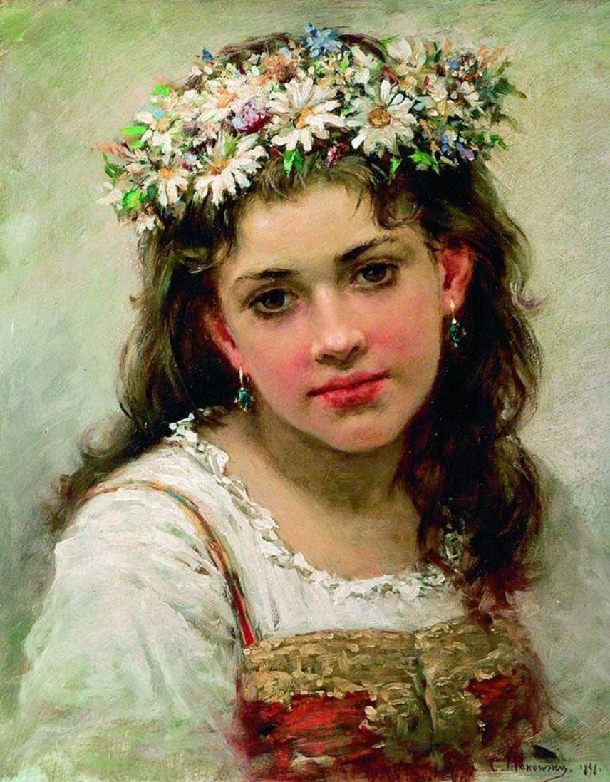 Русские секс красавицы в живописи