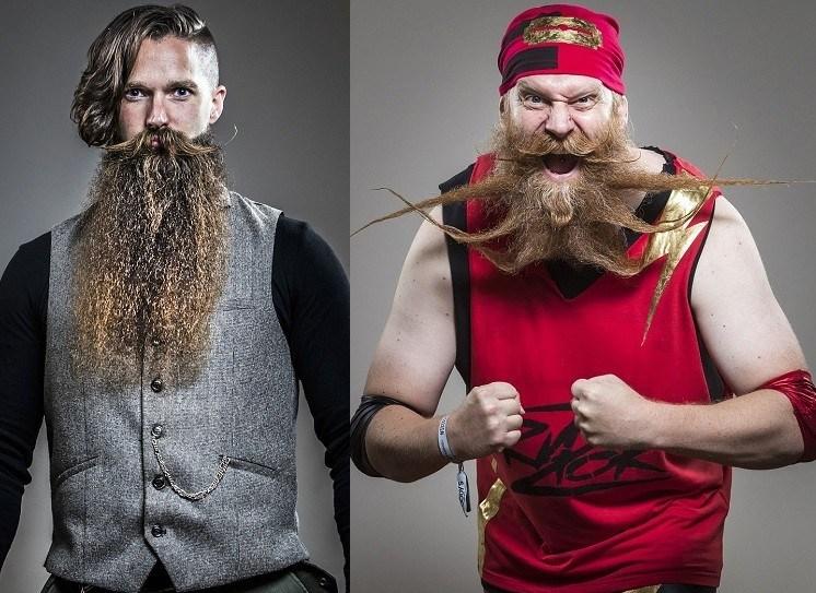 Потрясающие фотографии чемпионата Великобритании «Борода и Усы» в Блэкпуле.