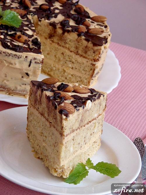 """Фасолевый торт """"Удивление"""""""