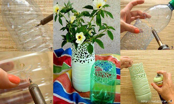 Как можно сделать из пластиковой бутылки своими руками 22