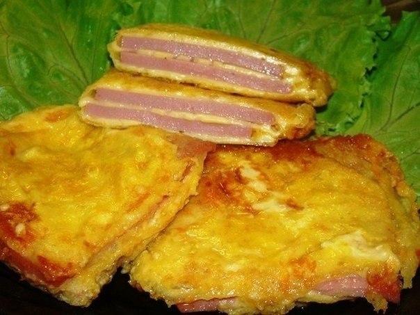 Колбаска в панировке