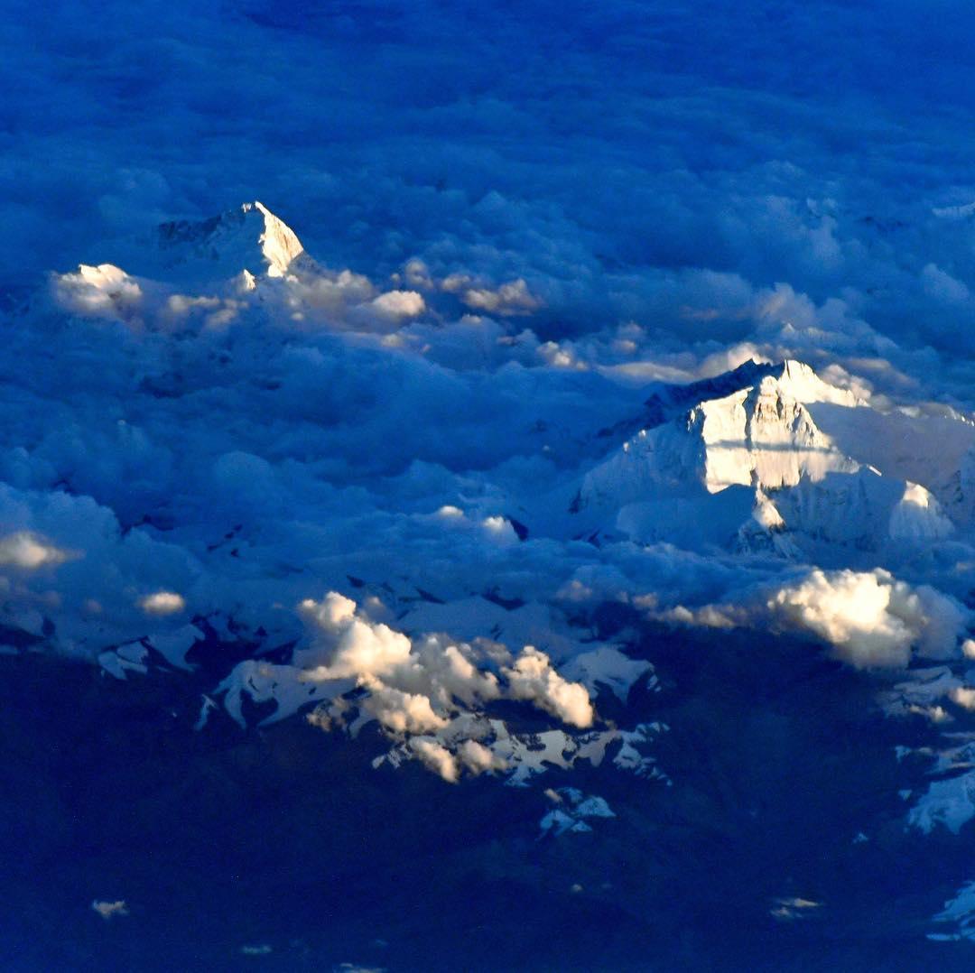 Как Эверест выглядит с борта МКС