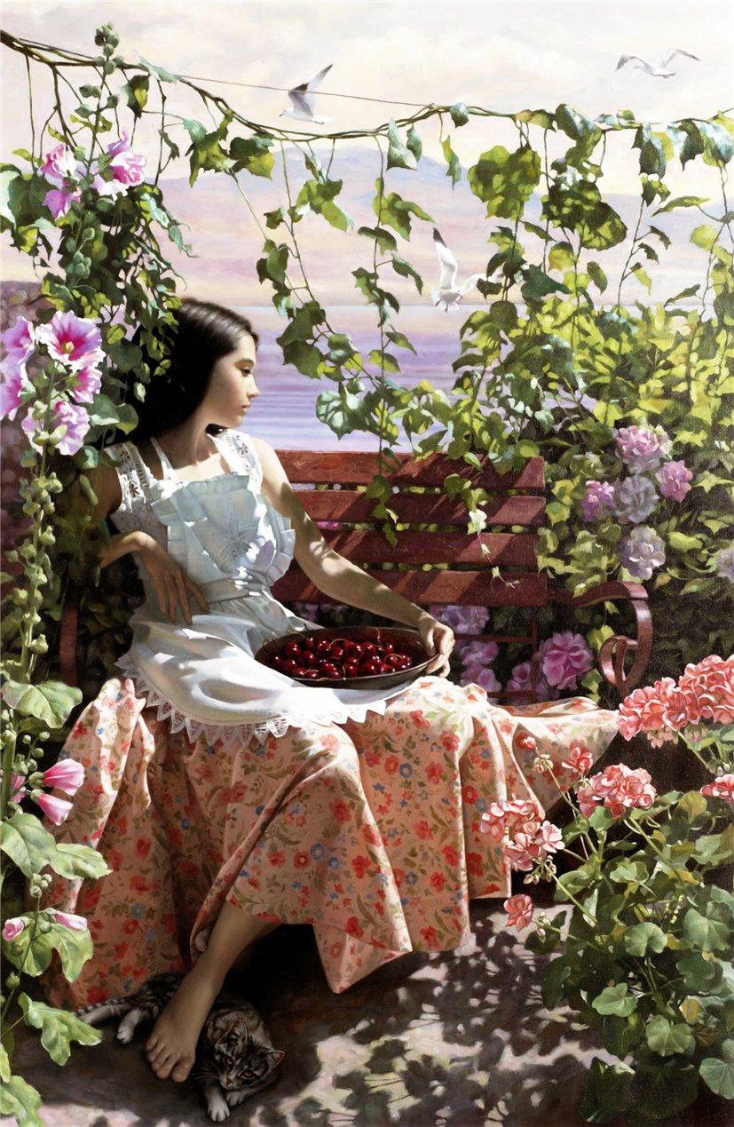 Нежный романтизм женских образов в совместном творчестве ...