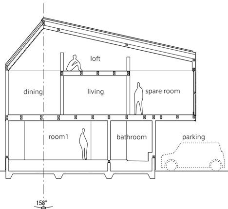 треугольный дом, крошечный треугольный дом, внутри крошечного дома, внутри маленького дома, интерьер маленького дома