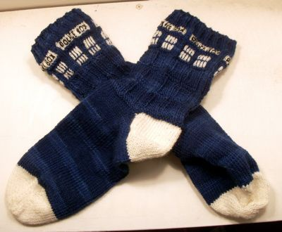 Необычные вязаные носки (подборка)