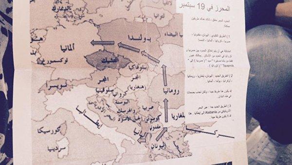 Беженцы проложили новый маршрут: в Германию - через Украину