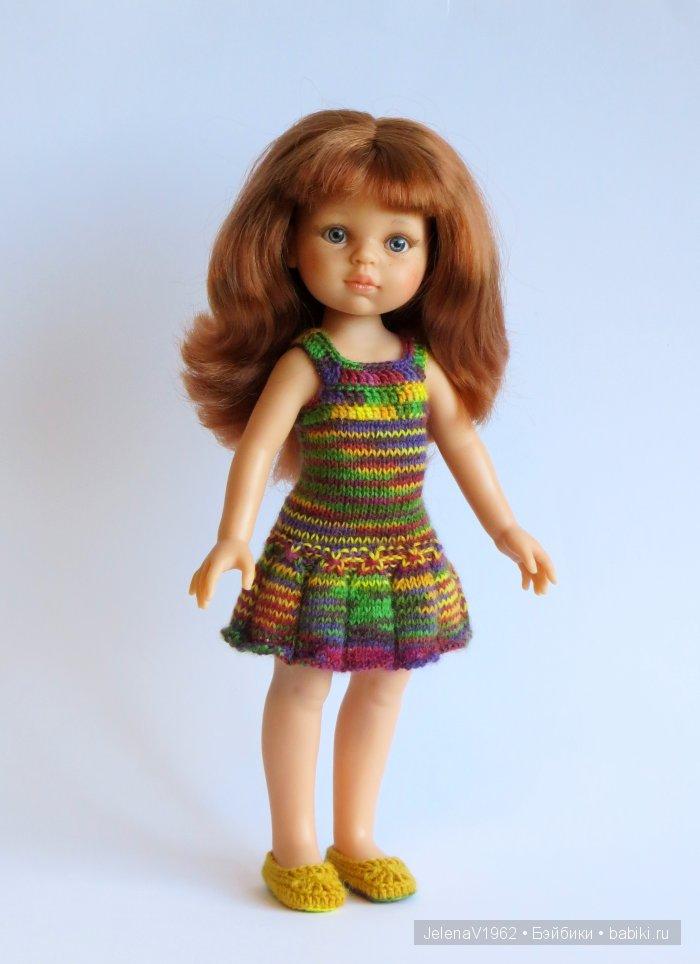 Осенние фантазии. Игровые куклы Paola Reina