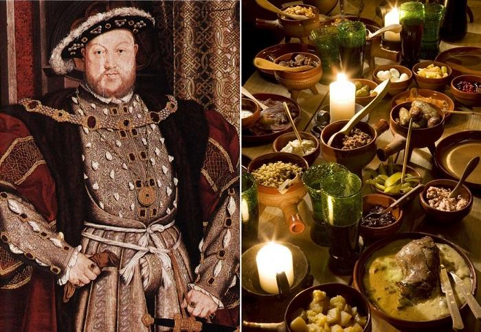 Как питался и от чего трагически умер деспот-гурман король Генрих VIII, чья кухня занимала целых 50 комнат