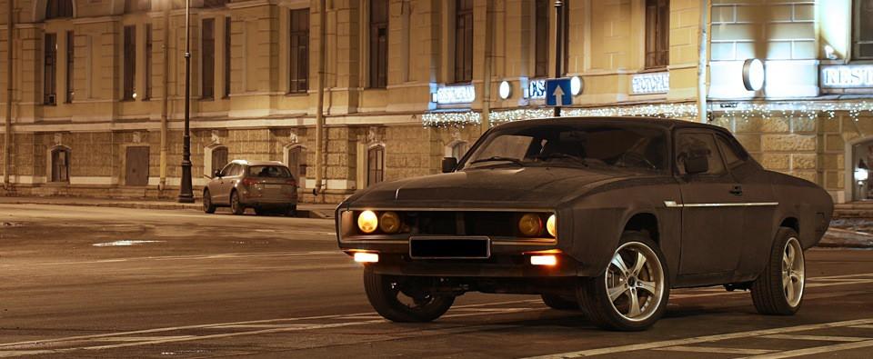 "Muscle-car на базе ""Волги"" ГАЗ-3102"