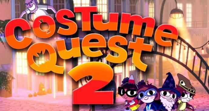 Лучшей детской РПГ чем Costume Quest просто нету