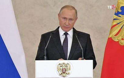 Путин: операция в Сирии показала миру возможности российской армии