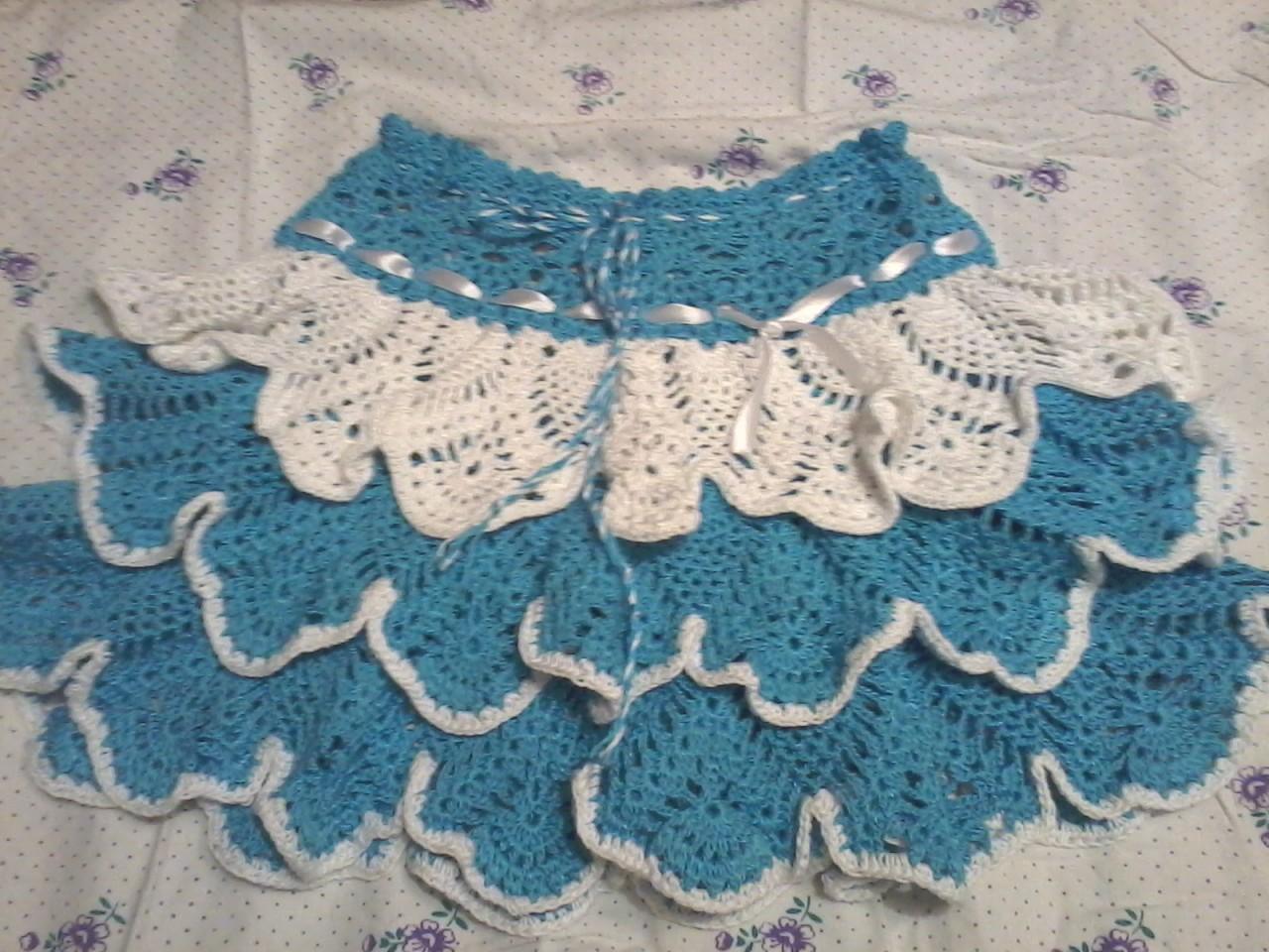 Вязание юбочек от светланы берсановой