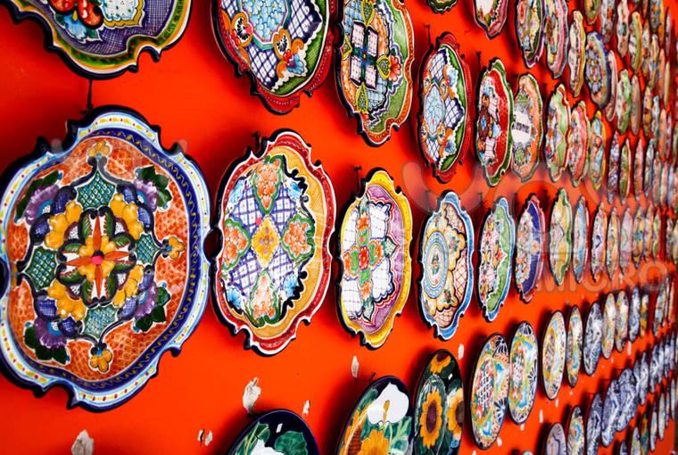 Декор керамической посуды