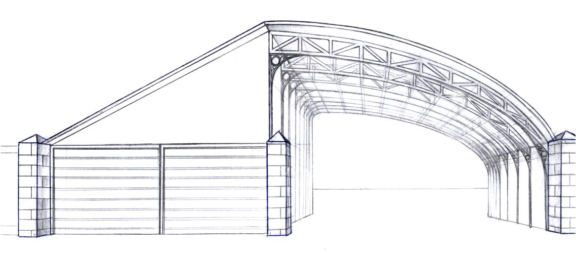 Конструкция навеса из поликарбоната своими руками фото