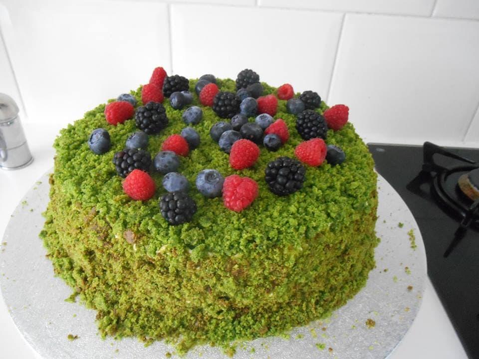 """Шикарный тортик """"Лесной мох"""""""