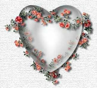 *heart & rose*