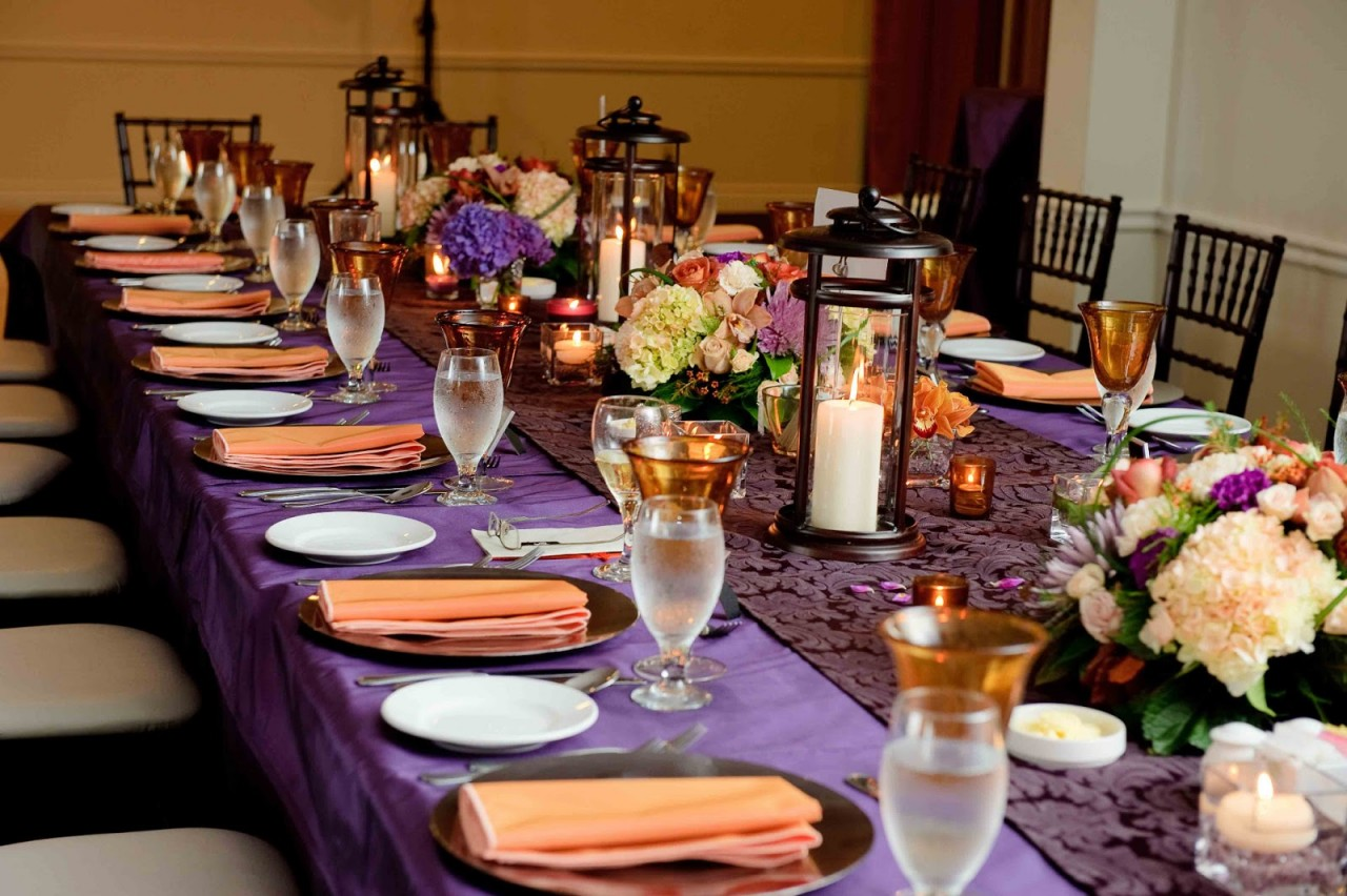 10 самых модных вариантов свадебной цветовой гаммы этой осенью