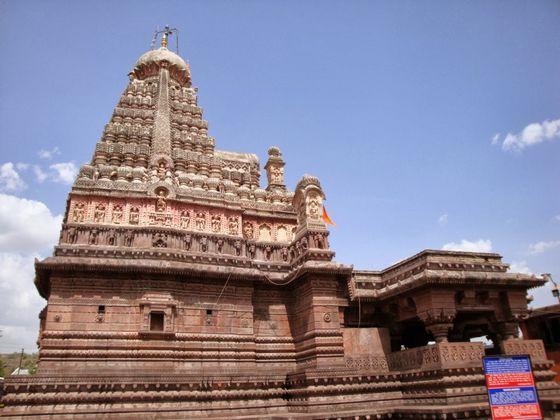 Храм Гришнешвор (Индия) красиво. необычно, храм. мир
