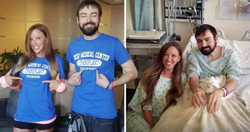 30-летняя американка отдала свою почку незнакомцу, выполняя новогоднее обещание «спасти чью-то жизнь»