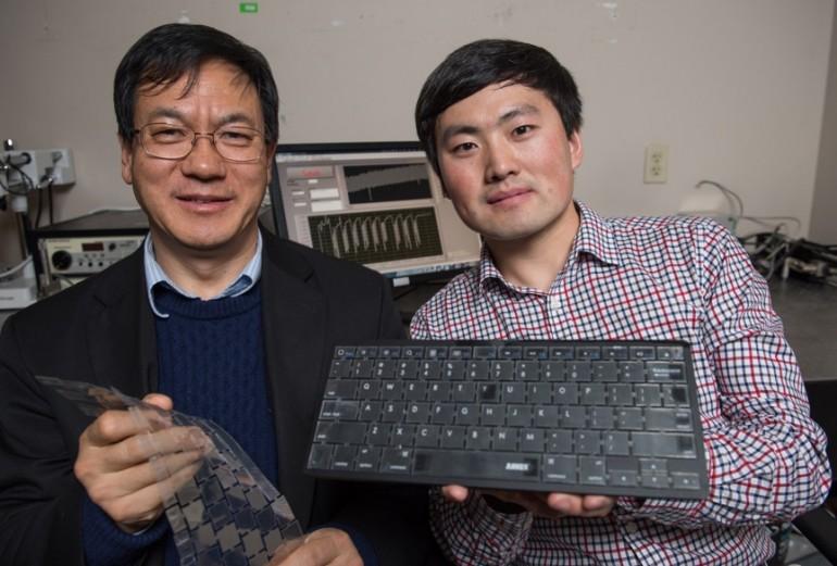 Самозаряжающаяся клавиатура определяет пользователя и защищает ваши данные