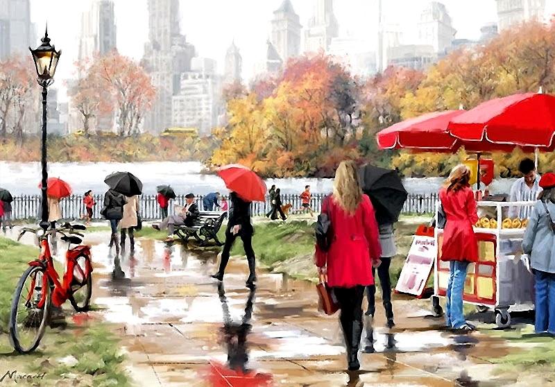 5 художников, воспевающих ритм большого города