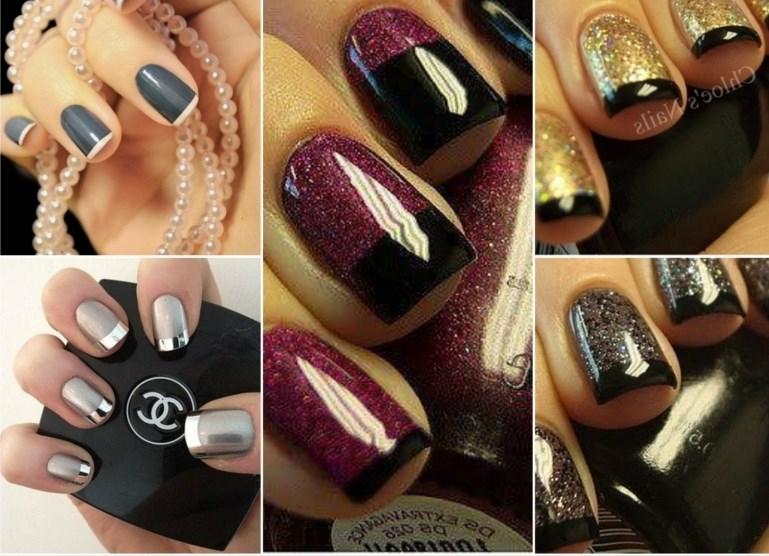 Модные цвета лака для ногтей на новый год 2017