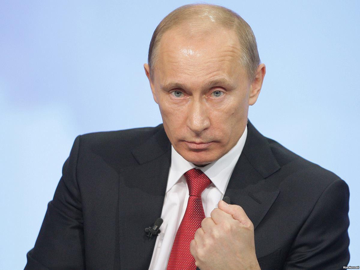 Владимир Путин: Я не ваш дру…