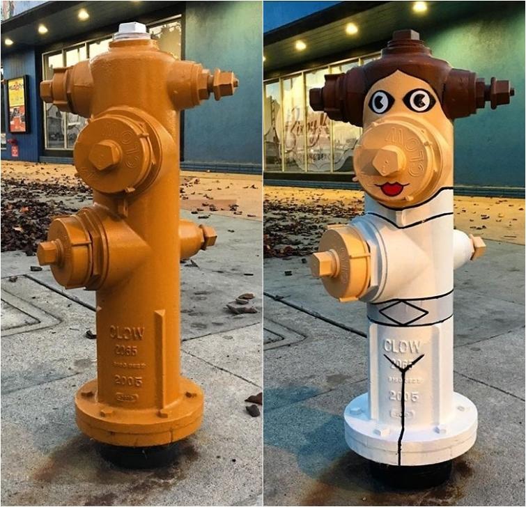 Уличный художник вдыхает жизнь в скучные сооружения
