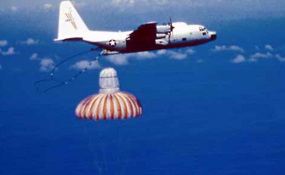 6493rd Test Squadron Эти подразделения ВВС существовали с 1958 по 1986 год. Их прозвали «ловцами падающих звезд»: в задачи солдат 6493rd Test Squadron входил поиск капсул кинопленки, которые отстреливали первые спутники-шпионы Америки.