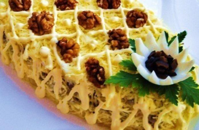 Самый нежный салат «Нежность»: Готовить только близким