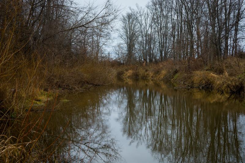 Сумасшедшая погода и малая река