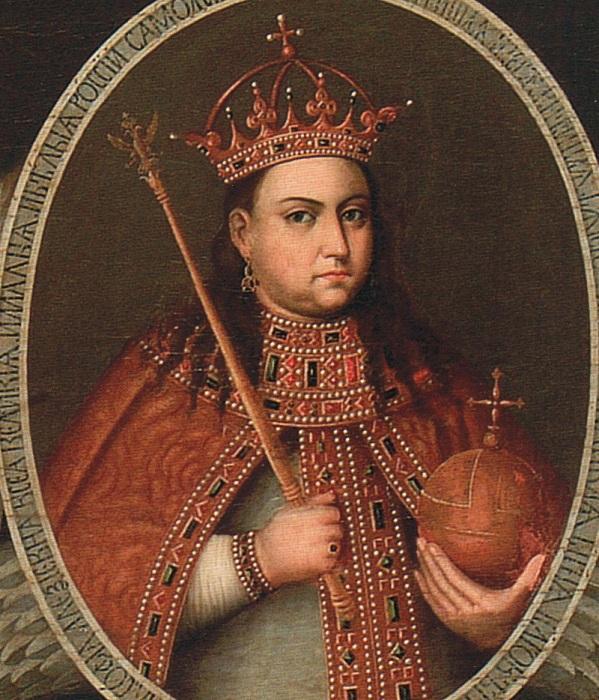 Царевна Софья  —  первая женщина на троне русских царей. Пусть и без короны