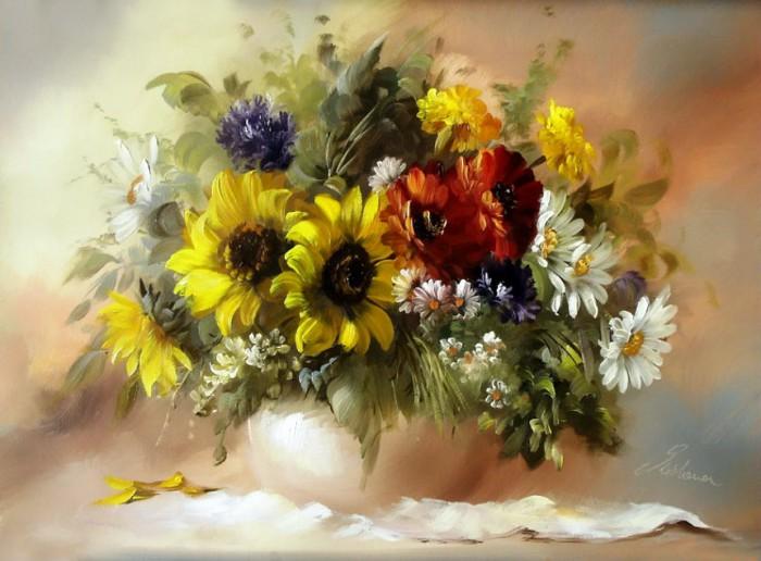 натюрморты цветы-06