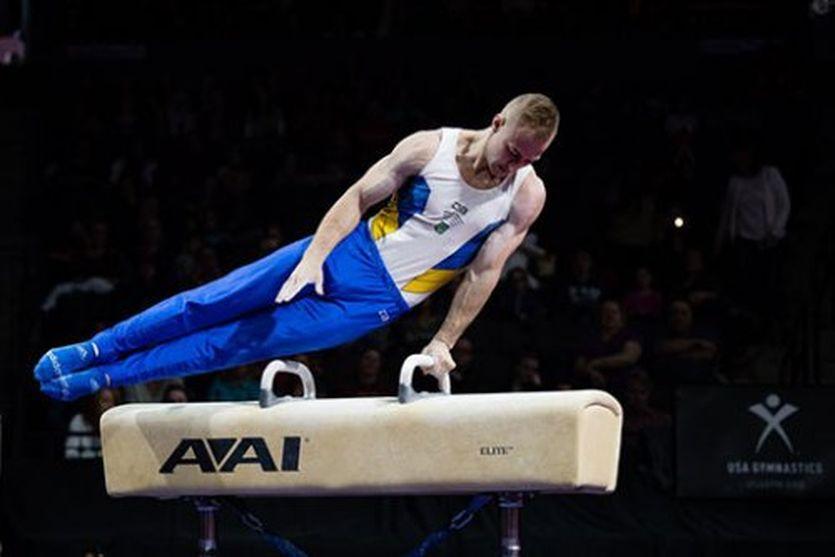 Украинский гимнаст завоевал …