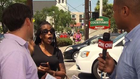 Афроамериканка ворвалась в прямой эфир CNN и назвала Обаму марионеткой