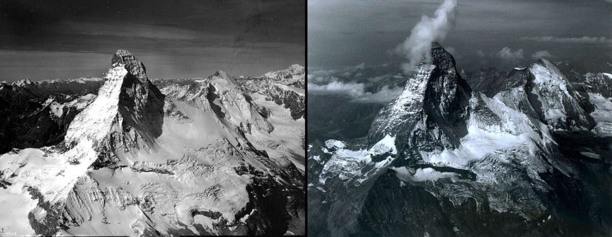 Гора Маттерхорн, Италия/Швейцария история, факты