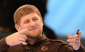 Глава Чеченской Республики Рамзан Кадыров на пресс-конференции