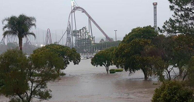 Пылающая Австралия оказалась на грани потопа из-за ливней