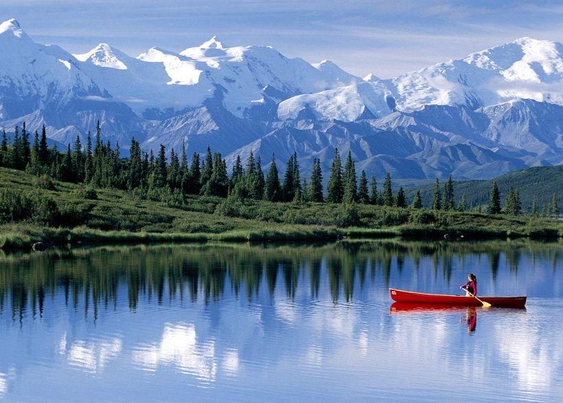 10 мест на Аляске, которые выглядят как в сказке